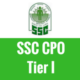 SSC CPO Tier I Test Series