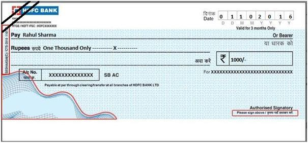 Image result for Ante-Dated Cheque: